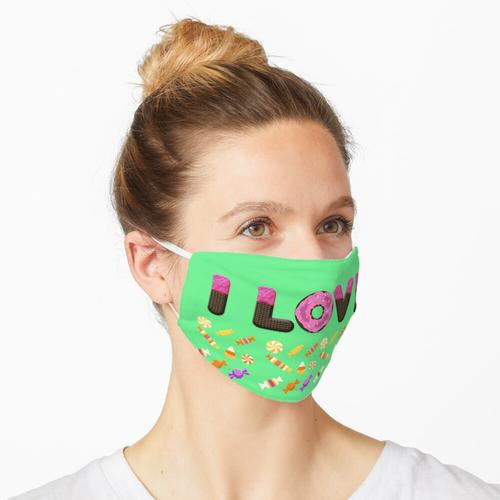 Liebesbonbon Maske