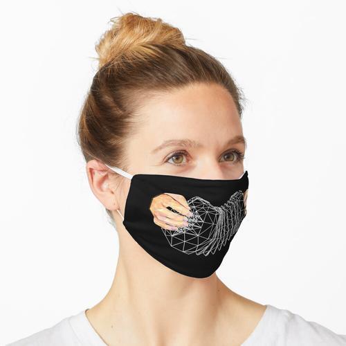 Ziehharmonika Maske