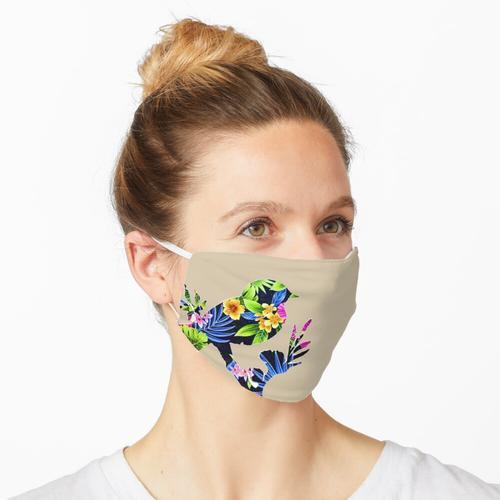 tropische Voliere Maske