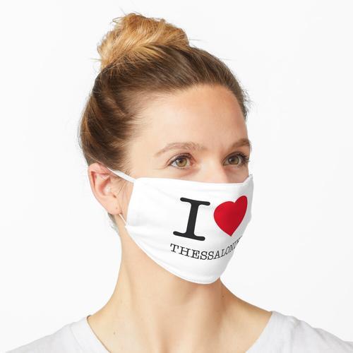 I LOVE THESSALONIKI Maske