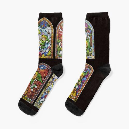 Cooles Zelda Shirt Socken