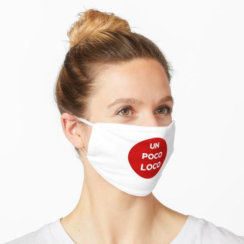UNO POCO LOCO (ROT) Maske