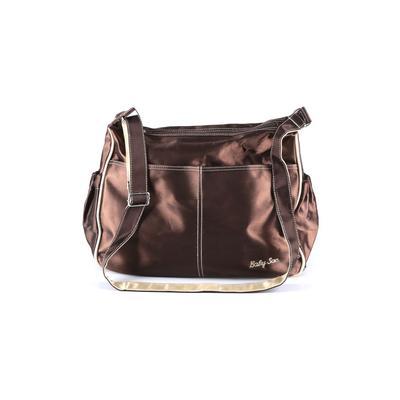 Assorted Brands Diaper Bag: Brown Solid Bags