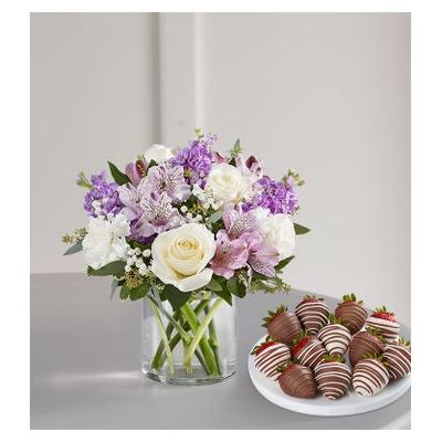 Lovely Lavender Medley with Strawberries Small by 1-800 Flowers