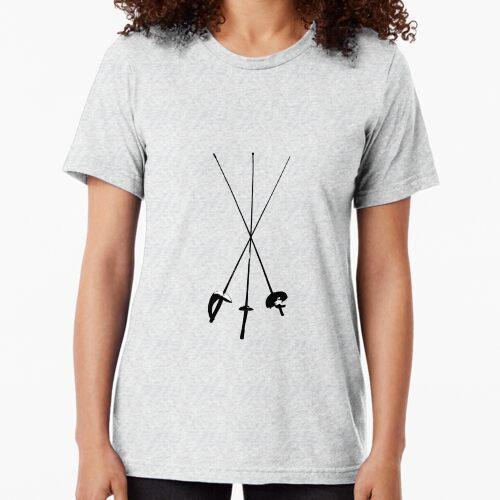 Säbel, Folie, Degen Vintage T-Shirt