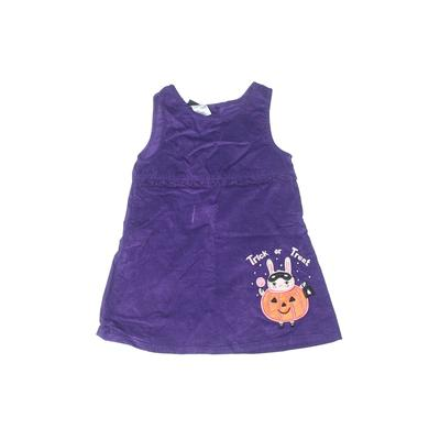 Holiday Editions Dress: Purple Solid Skirts & Dresses - Used - Size 3Toddler