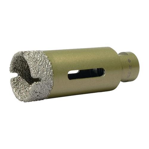 Diamantbohrkrone D. 20 mm Länge 70 mm geeignet für Fliesen / Granit / M - Promat