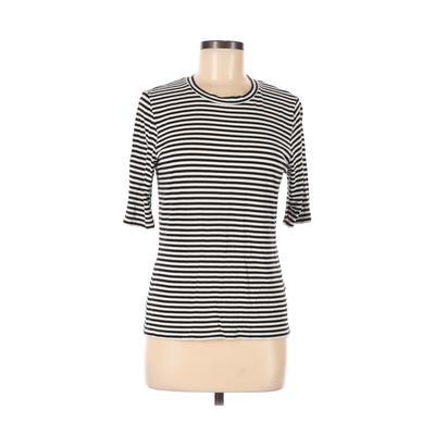 H&M Short Sleeve T-Shirt: Black ...