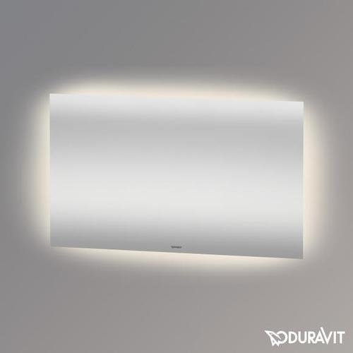 Duravit Spiegel B: 120 H: 70 T: 3,3 cm mit indirekter LED-Beleuchtung Good-Version LM780800000, EEK: A+