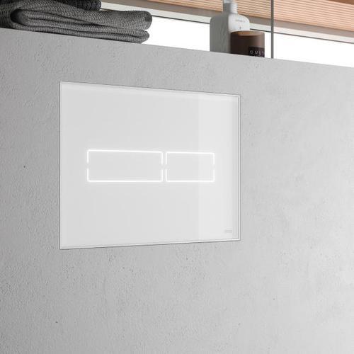TECE lux Mini Betätigungsplatte mit elektronischer Touch-Betätigung weiß 9240960