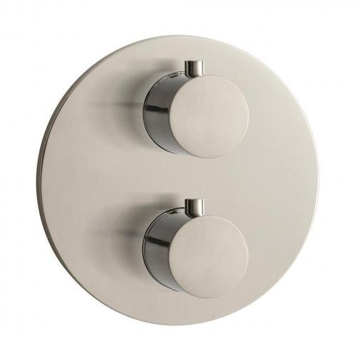 Herzbach Design iX Thermostat round Unterputz für 2 Verbraucher 17.503050.1.09