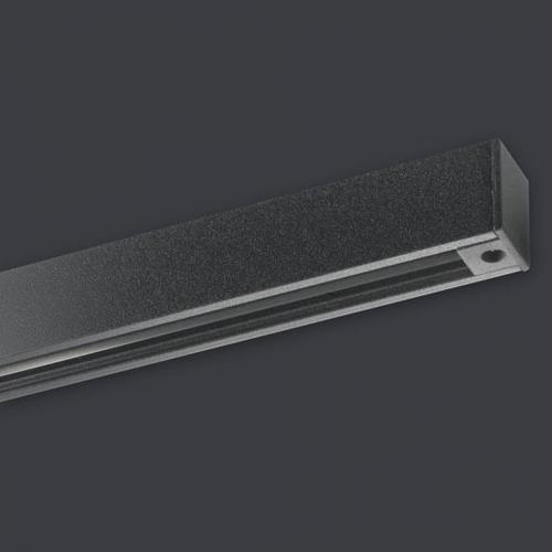 FISCHER & HONSEL Stromschiene für HV-Track 6 System B: 150 cm, schwarz 70300