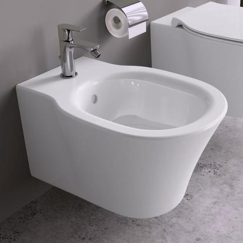 Ideal Standard Connect Air Wand-Bidet L: 54 B: 36 cm weiß, mit Ideal Plus E0266MA