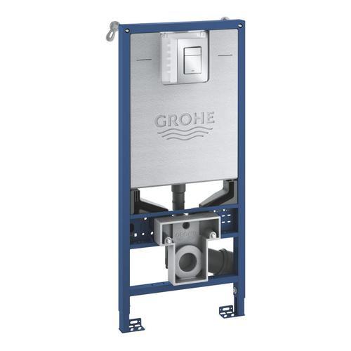Grohe Rapid SLX Vorwandelement für WC, H: 113 cm, SET, mit Drückerplatte 39603000