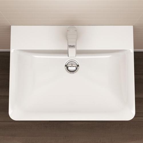 Ideal Standard Connect Air Waschtisch B: 65 T: 46 cm weiß, mit Ideal Plus E0297MA