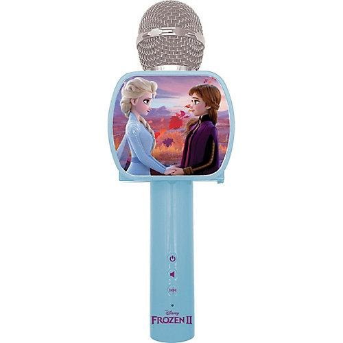 Disney Die Eiskönigin Bluetooth Karaoke Mikrofon blau/lila