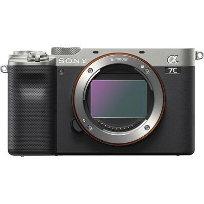 Sony Alpha 7C Full Frame Mirrorless Camera Body Only- Silver