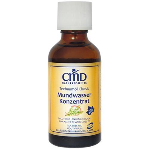 CMD Naturkosmetik Teebaumöl Mundwasser 50 ml Mundspülung
