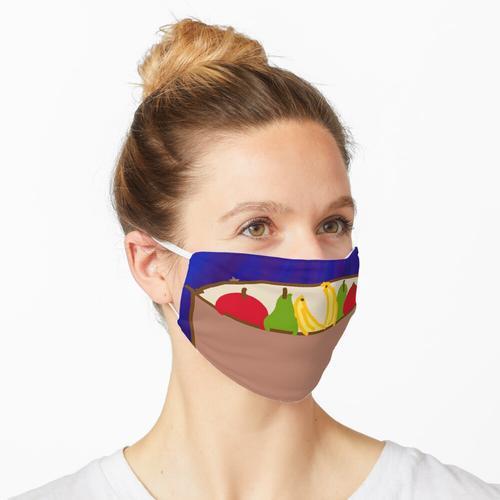 Obstschale Maske
