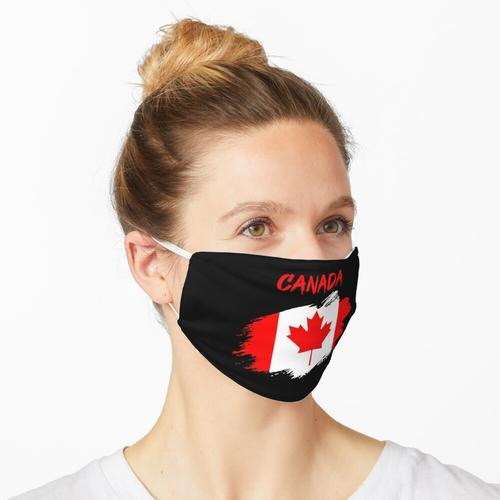 Kanda kanadisch Flagge Fahne Maske