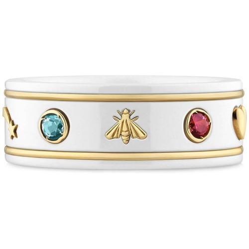 Gucci Icon Ring mit Edelsteinen