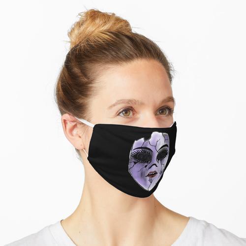 Kaputte Puppe Maske