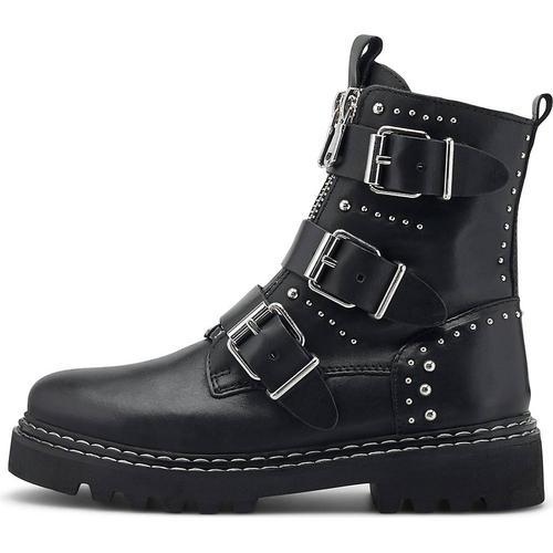 Another A, Nieten-Boots in schwarz, Boots für Damen Gr. 38