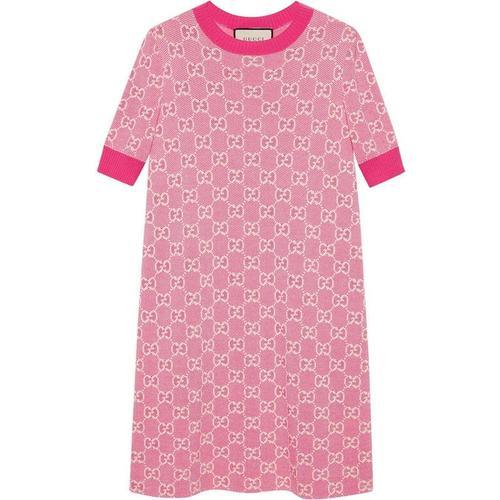 Gucci Kleid mit Jacquardmuster