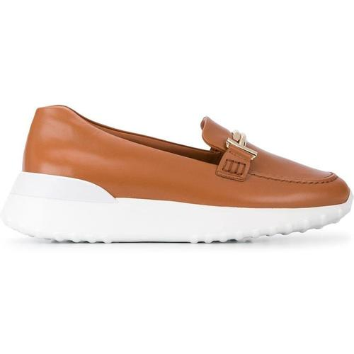 Tod's Loafer mit Plateau