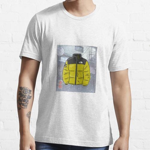 Anime Northface Abbildung Essential T-Shirt