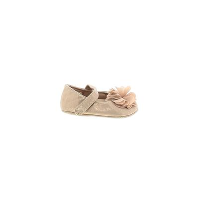 Assorted Brands Booties: Tan Solid Shoes - Size 1