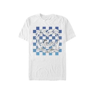 Disney White Lilo & Stitch Graphic Top