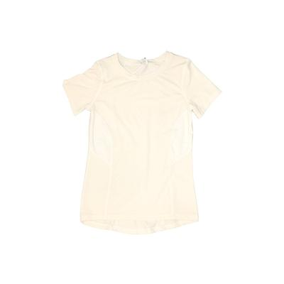 Danskin Now Active T-Shirt: White Solid Sporting & Activewear - Size 7