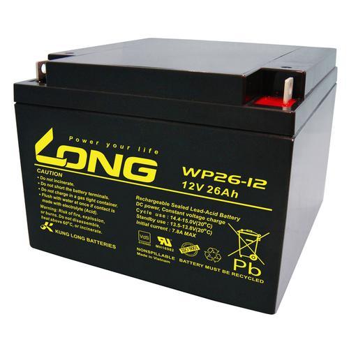 Kung Long WP26-12 12V 26Ah VdS Akku AGM GEL Blei Batterie