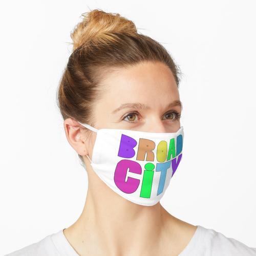 Breite Stadt Maske
