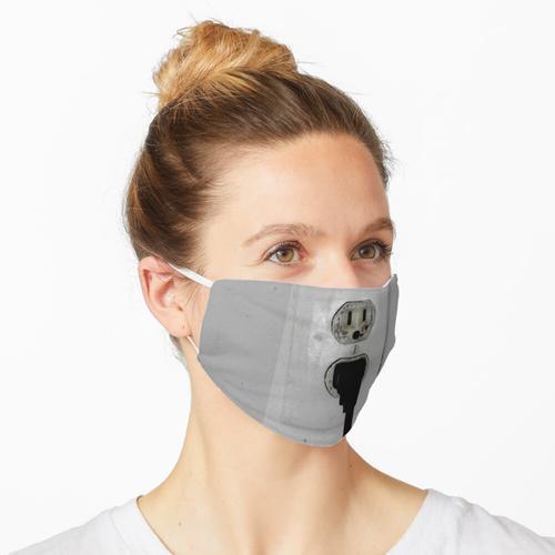 Netzstecker eingesteckt Maske