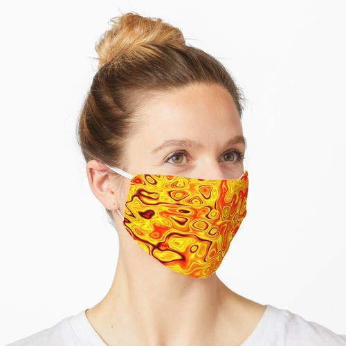 Lava Lampe Maske