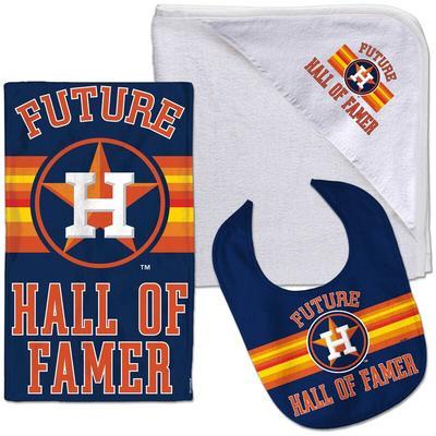 Houston Astros WinCraft Three-Piece Baby Gift Set
