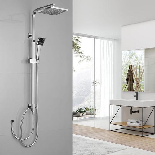 Chorm Regendusche Duschset Duschsystem Regenduschset mit Kopfbrause und Handbrause für Bad - Auralum