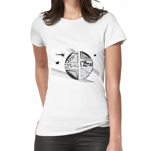 Cyberspace Frauen T-Shirt