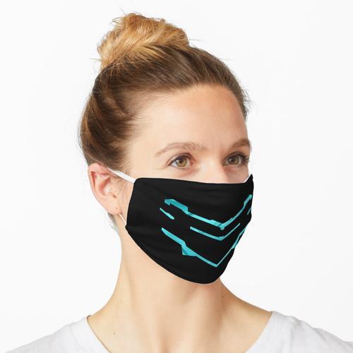 3D Dead Space - Kristallblau Maske