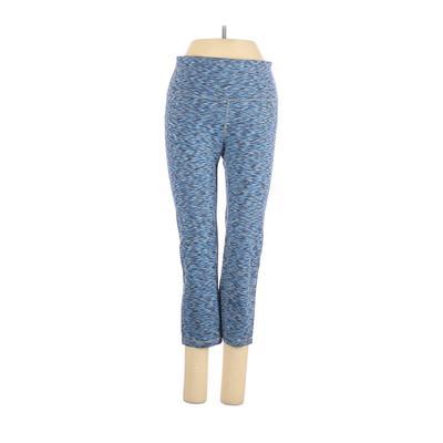 Gap Fit Active Pants - Mid/Reg Rise: Blue Activewear - Size Small
