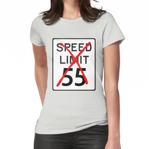 Geschwindigkeitsbegrenzung 55 Frauen T-Shirt