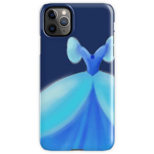 Blaues Ballkleid iPhone 11 Pro Max Handyhülle