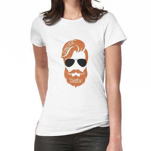 Ginger Hipster Geek - Ginger Bruder - Vater - Chef - Ginger Cool - Ging Tshirt - Ging Frauen T-Shirt