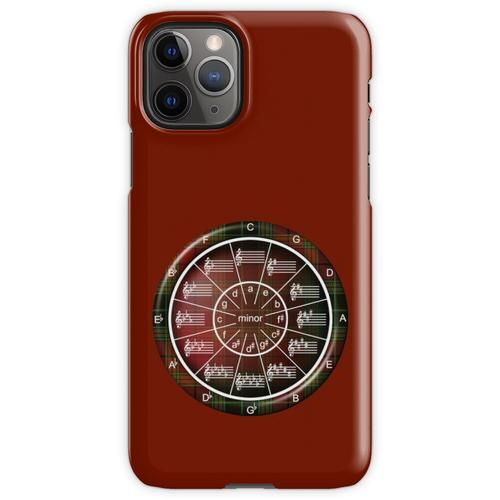Musiker-Kreis der Fifths in Celtic Plaid iPhone 11 Pro Handyhülle