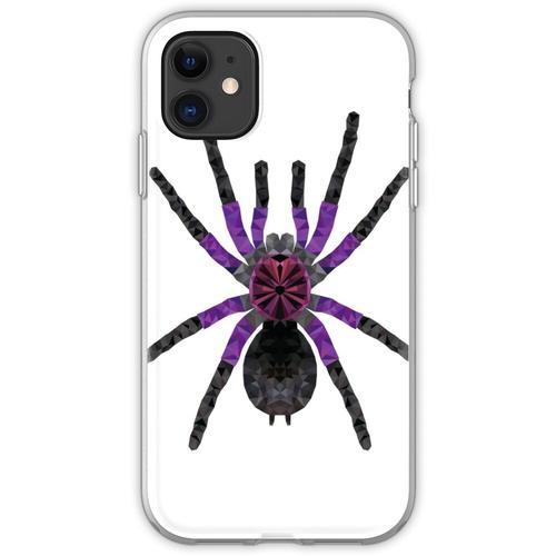 Vogelspinne Pamphobeteus machala Tarantel Geschenk Flexible Hülle für iPhone 11