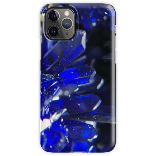 Azurit-Kristalle iPhone 11 Pro Handyhülle