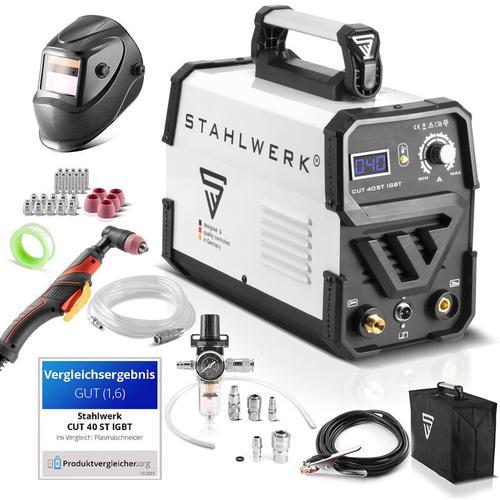 STAHLWERK CUT 40 ST IGBT Plasmaschneider Vollaustattung mit 40 Ampere, bis 10 mm Schneidleistung,