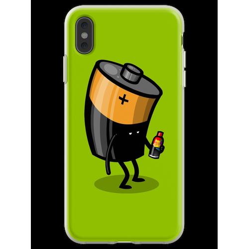 Abgelaufene Batterie Flexible Hülle für iPhone XS Max